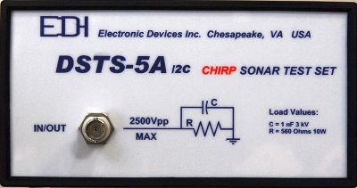 DSTS-5A/2C Chirp SONAR Test Set